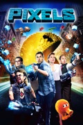 Pixels reviews, watch and download